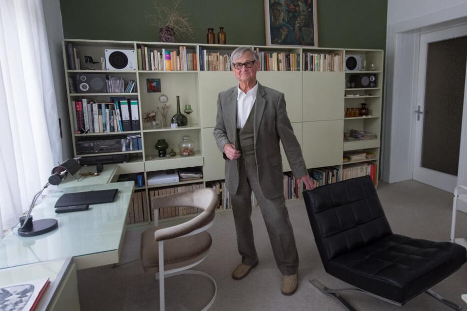 Rudolf Horn, der Vater der DDR-Möbelserie MDW, wird 90.