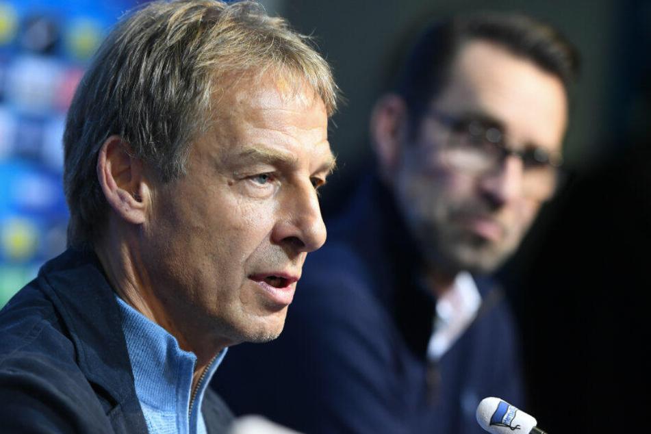 Jürgen Klinsmann trat nach 76 Tagen als Hertha-Trainer zurück.