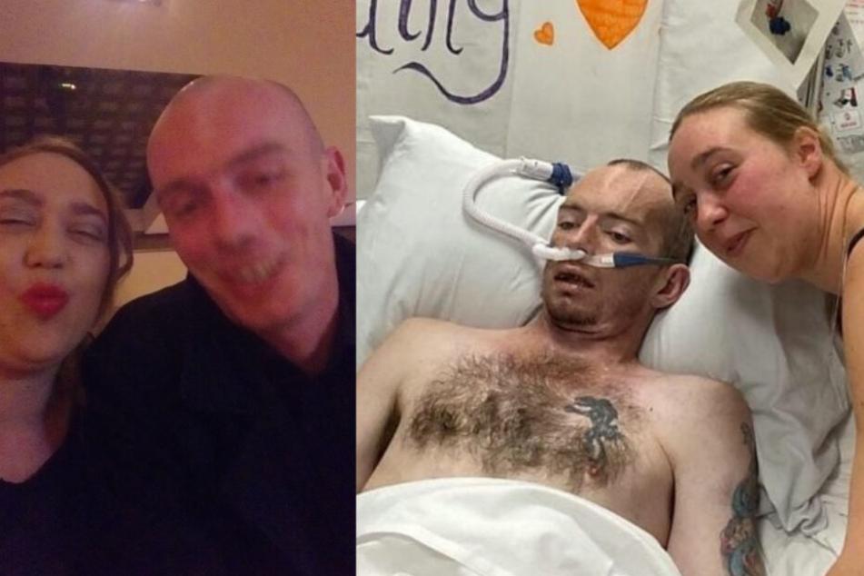 Mann liegt im Sterben, kurz vor seinem Tod wird ihm sein letzter Wunsch erfüllt