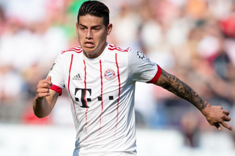 Der Abschied aus München scheint bei James Rodríguez bereits beschlossene Sache zu sein.