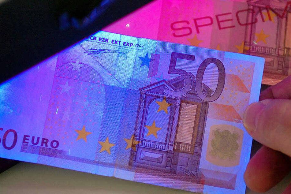 Vor allem in Leipzig wurde in diesem Jahr mehr Falschgeld gefunden.