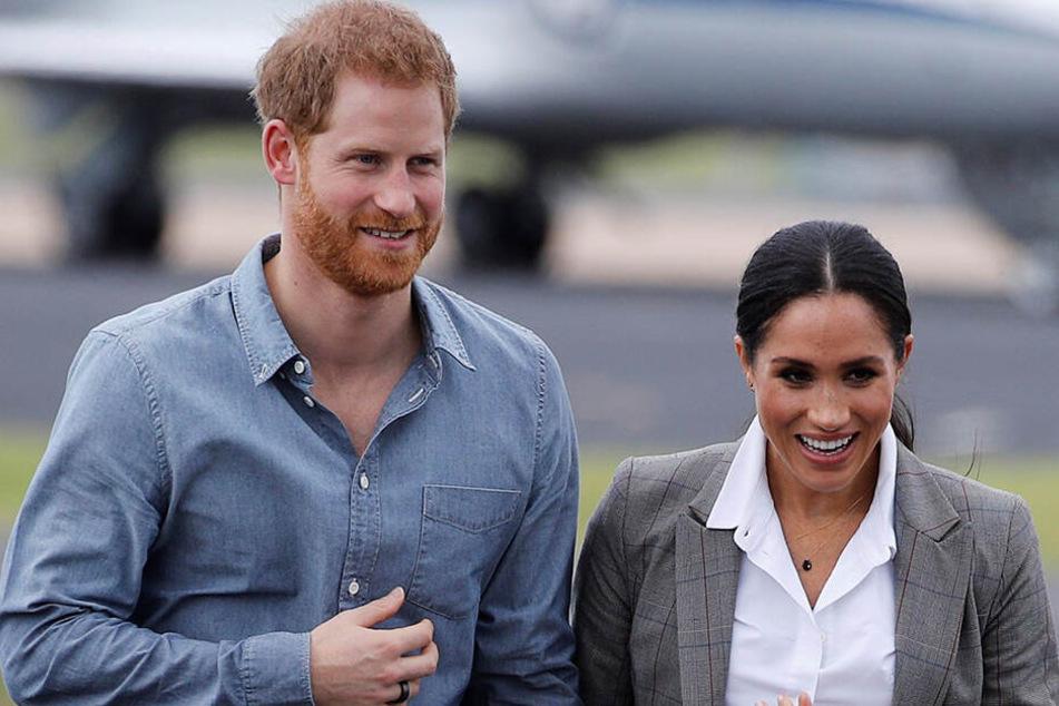 Haben bei der Herzogin von Sussex am Freitag die Wehen eingesetzt?