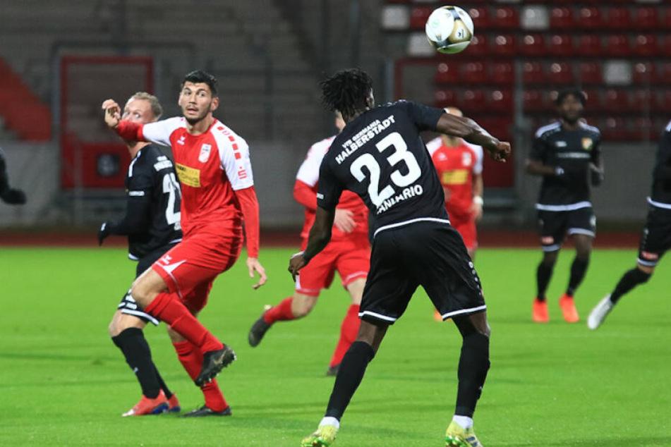 Gegen Halberstadt gab es für RWE am vergangenen Wochenende eine 0:1-Niederlage.