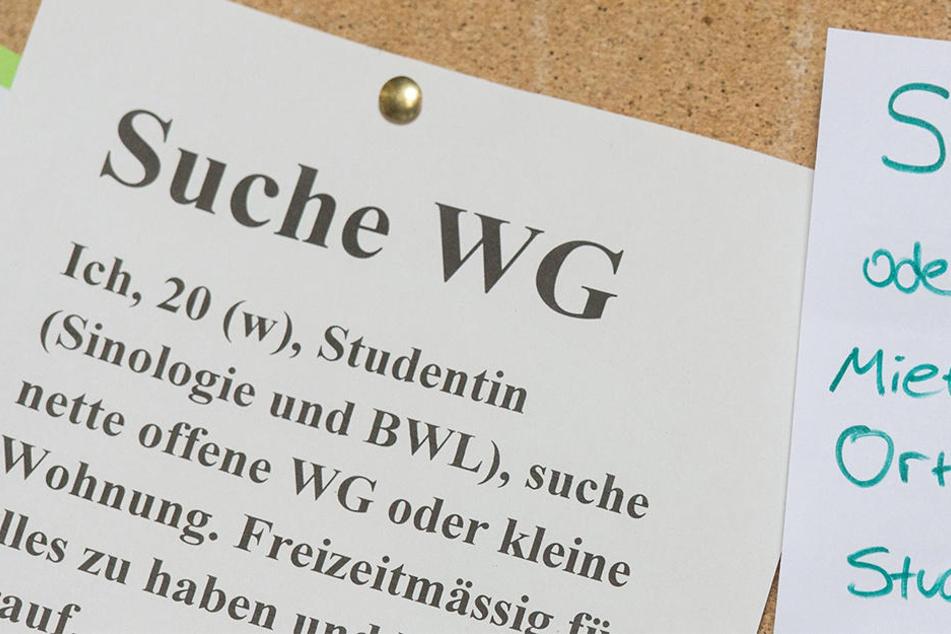 Wer ein WG-Zimmer sucht, zahlt in Leipzig derzeit weniger als in anderen Hochschulstädten. Allerdings holt die Messestadt preistechnisch auf. (Symbolbild)