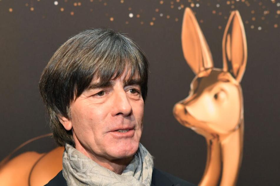 Jogi Löw bei der Bambi-Verleihung am Donnerstag.