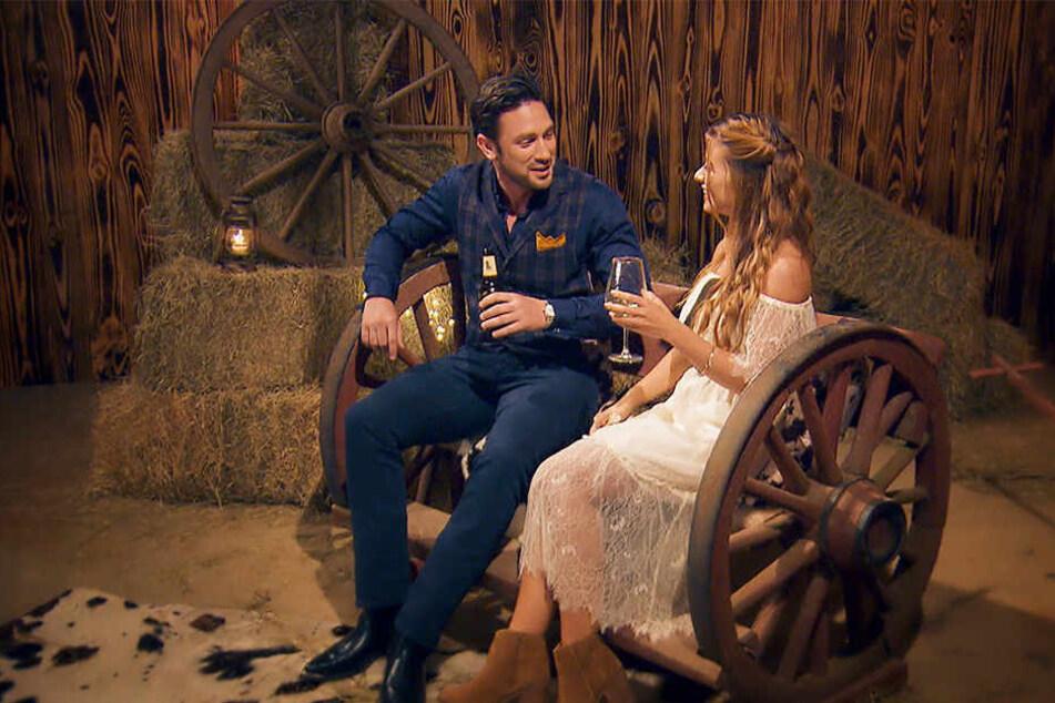 Daniel Völz und Maxime trafen sich in der Nacht der Rosen zu einem intensiven Gespräch.