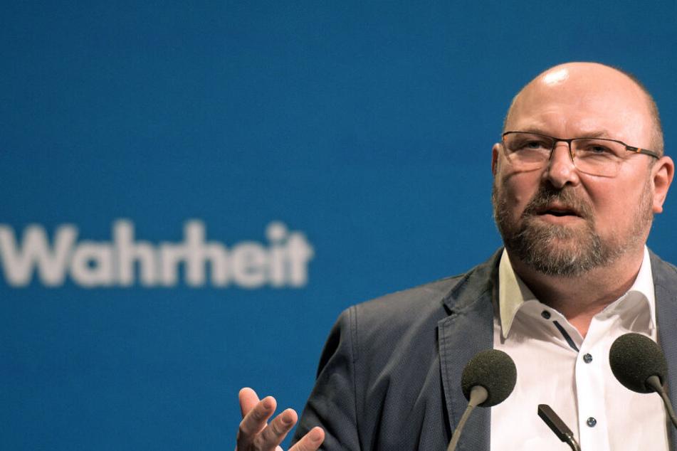 AfD-Landesschatzmeister in Baden-Württemberg: Frank Kral.