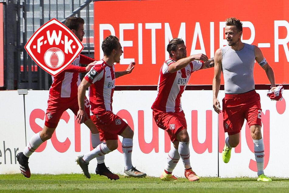 Sebastian Schuppan schießt die Würzburger Kickers in der Nachspielzeit in die 2. Liga!