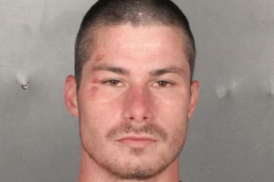 Philip M. (27) auf einem Gefängnisbild.