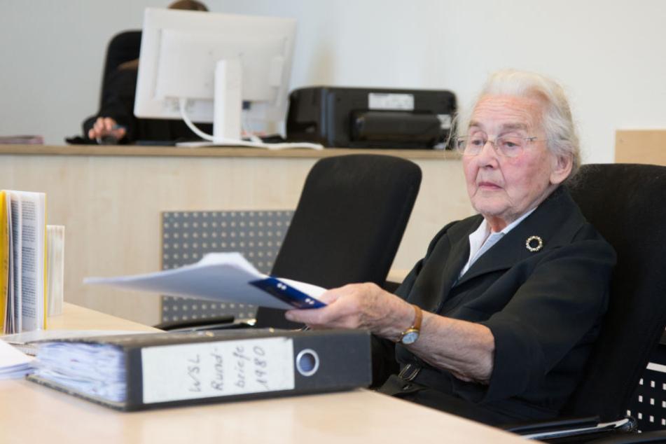 Bereits mehrfach musste sich Ursula Haverbeck vor deutschen Gerichten wegen Volksverhetzung verantworten.