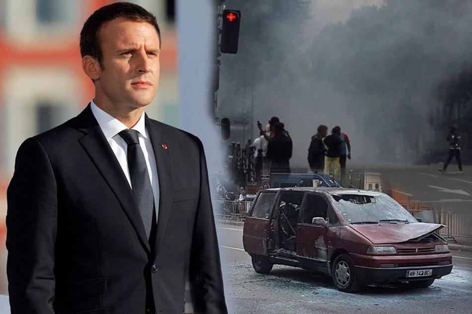 G20 war gestern: In Frankreich brennen in wenigen Stunden 897 Autos