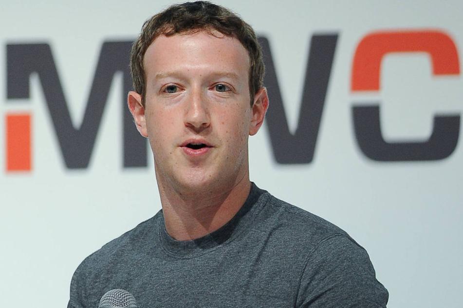 Eine Milliarde US-Dollar sollen Mark Zuckerberg (32) und Facebook blechen.