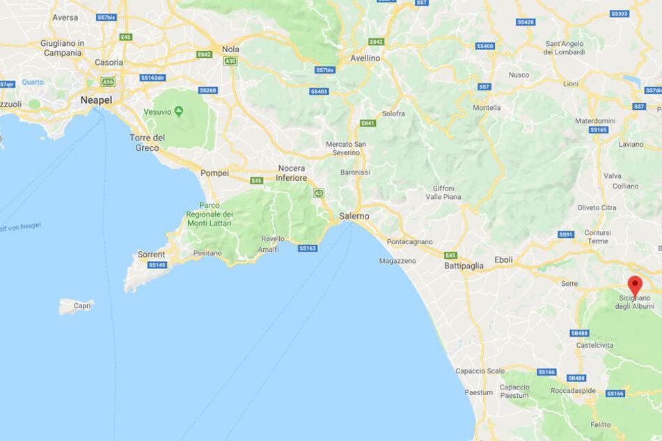 Sicignano degli Alburni war das Ziel der beiden Jäger.
