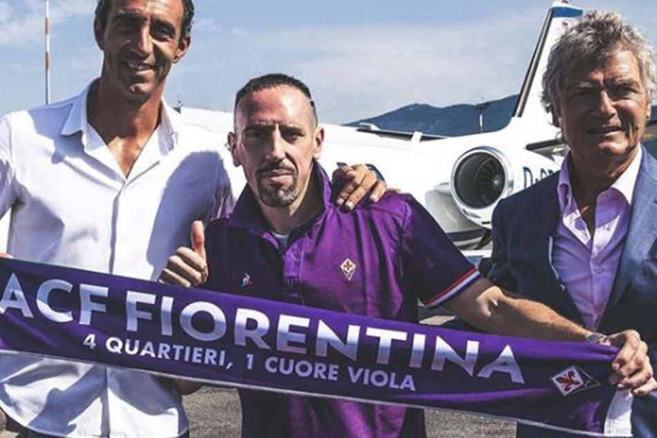 Franck Ribery: Transfer perfekt, er wechselt zum AC Florenz