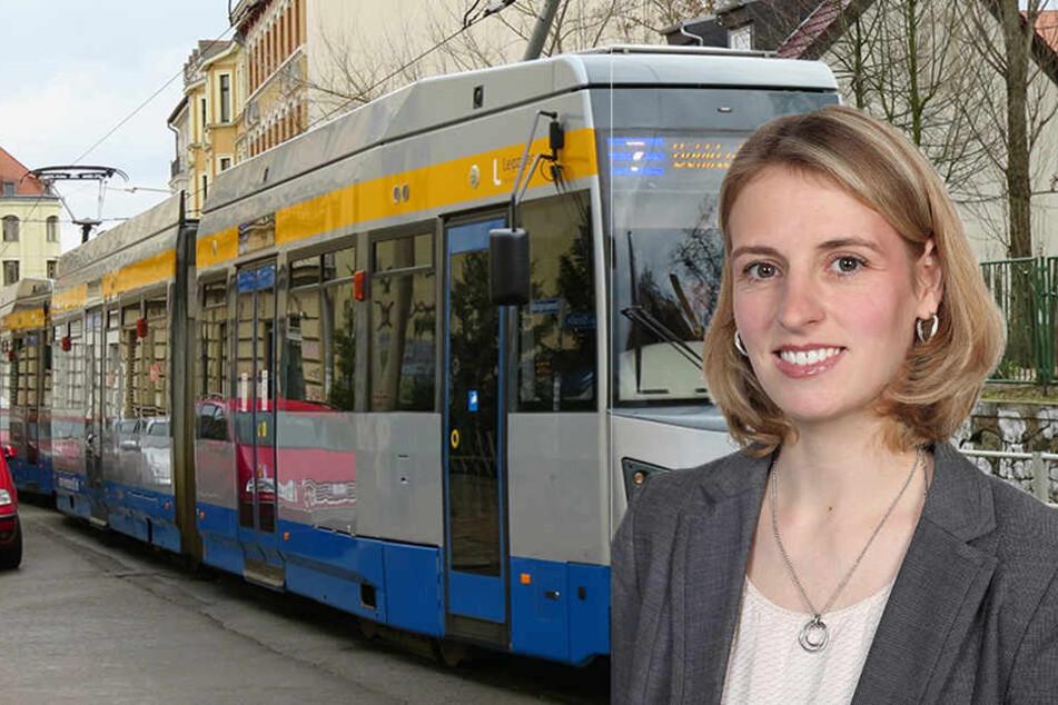 Nach Ansicht von Franziska Riekewald müssen die Bundesmittel für den ÖPNV zweckgebunden werden, damit sie auch in Städten wie Leipzig ankommen.
