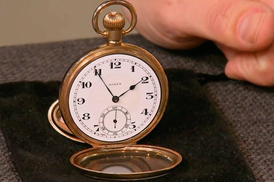 Die Taschenuhr von Rolex diente als Bezahlung für eine Taxifahrt.