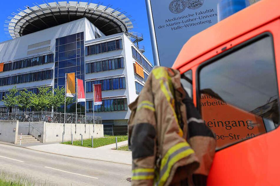 Großeinsatz nach Quecksilber-Alarm: Uniklinikum muss evakuiert werden