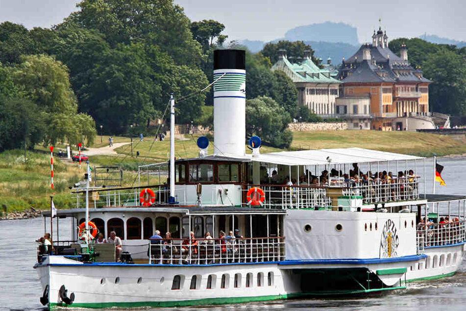 """Nächste Panne beim Elbedampfer: """"Leipzig"""" schon wieder in der Werft!"""