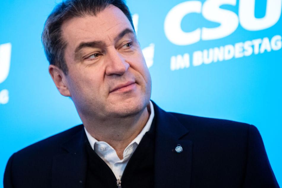 Markus Söder hat eine klare Vorstellung im Hinblick auf ein Tempolimit.