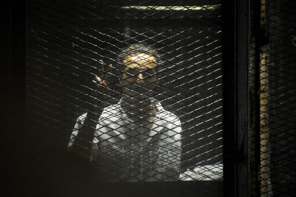 """Der Fotojournalist Mahmoud Abu Zeid, auch bekannt als """"Shawka"""", stand ebenfalls vor Gericht."""