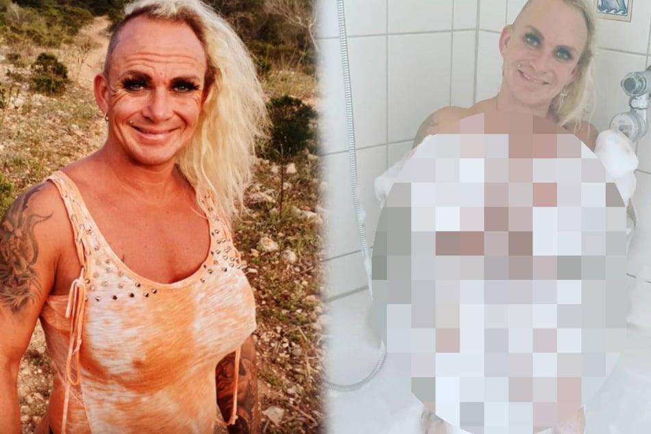 """""""Goodbye Deutschland""""-Auswanderin Caroline Robens posiert nackt in Wanne"""