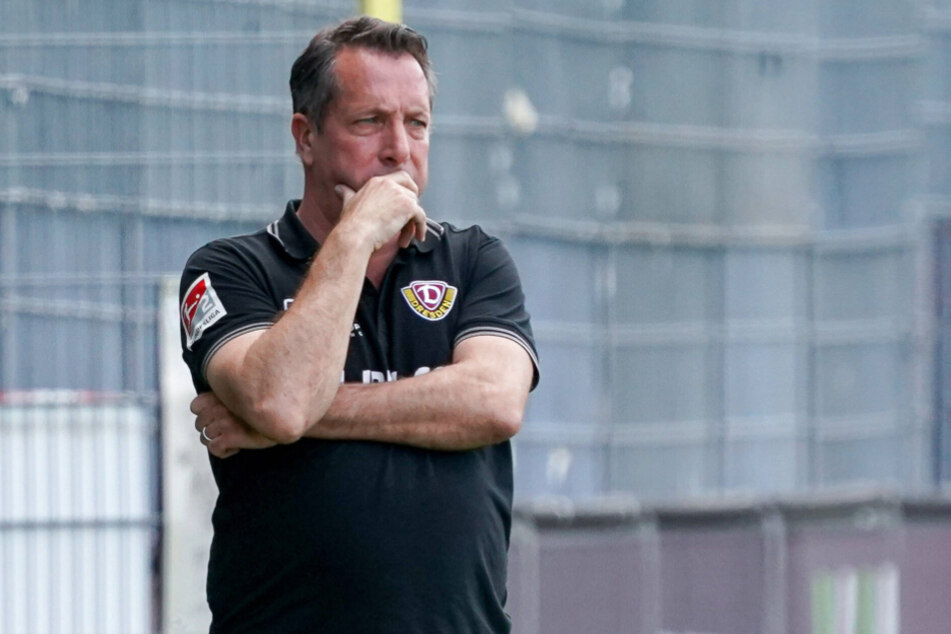 Dynamo-Coach Markus Kauzcinski (50) hat seine Kritik an der DFL erneuert.
