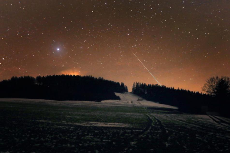 Spektakel am Nachthimmel: Es regnet Sternschnuppen über Deutschland