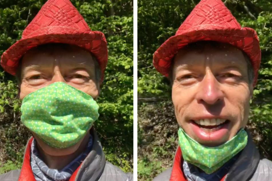 Horror-Story: Darum trägt Maddin Schneider die Maske auch im Wald