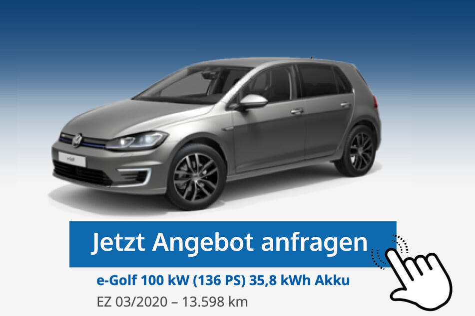 e-Golf (100 kW (136 PS) 35,8 kWh Akku) für 19.590 Euro bzw. 230 Euro/Monat*
