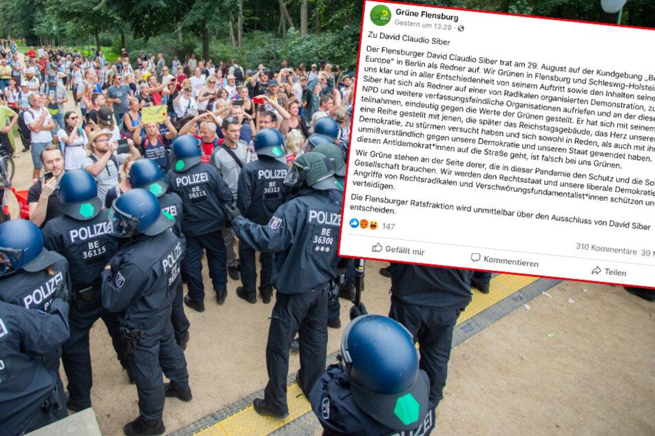 Nach Auftritt bei Corona-Demo: Grüner aus Fraktion ausgeschlossen