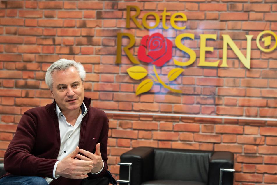 "Jan Diepers, Produzent der Telenovela ""Rote Rosen""."