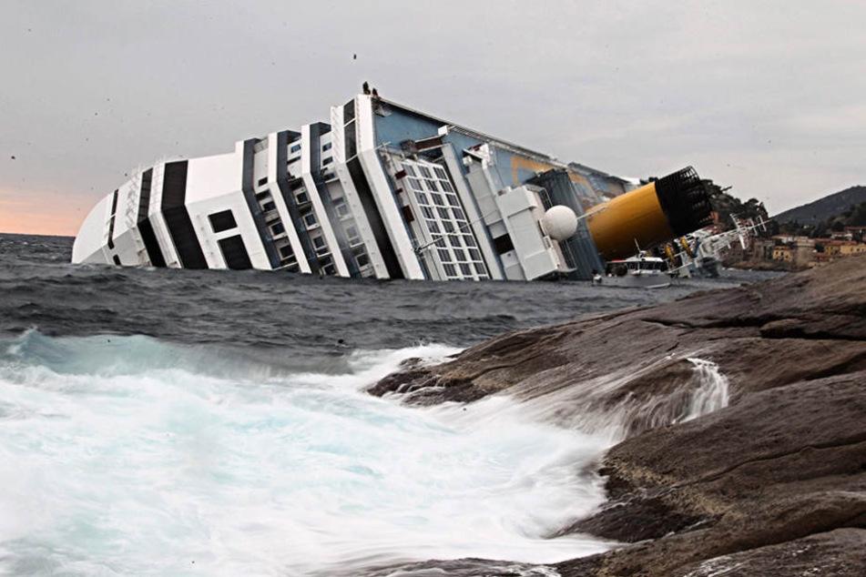 2012 war das Schiff gesunken.