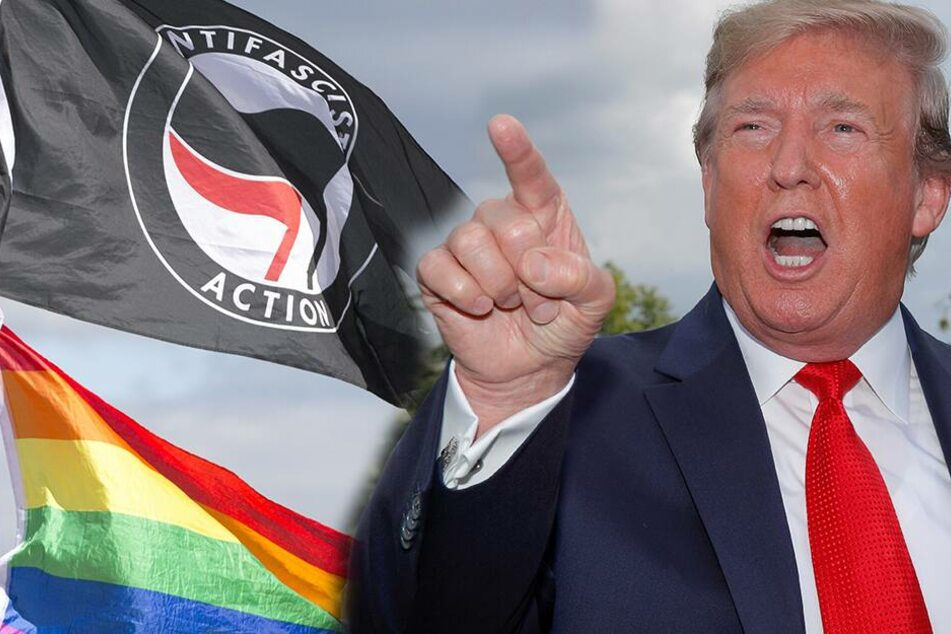 """Donald Trump will """"Antifa"""" als Terrororganisation einstufen"""