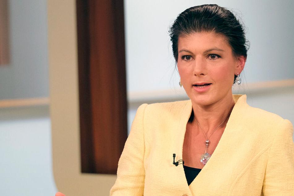Die sonst so unnahbare Politikerin Wagenknecht zeigte offen, dass es ihr nicht gut geht.