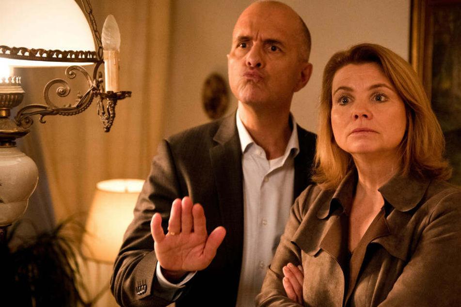Immer mit der Ruhe: Erik (Christoph Maria Herbst) und Anne Merz (Annette Frier) versuchen trotz gescheiterter Ehe, weiter gut miteinander auszukommen.