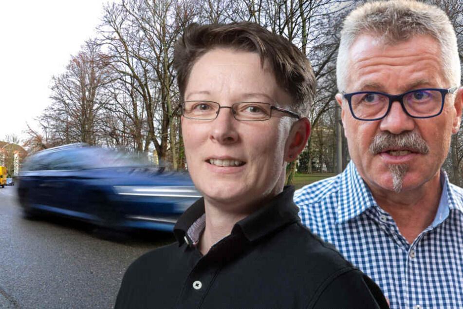 Illegale Autorennen am Goetheplatz? Rathaus ignoriert Protz-Raser-Anfrage
