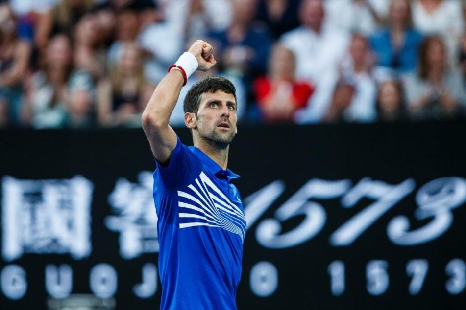 Novak Djokovic feierte seinen siebten Triumph bei den Australian Open.