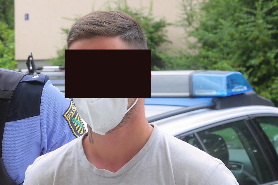 FKD-Mitglied Robert S. (23) wanderte am Donnerstag mal wieder in U-Haft.