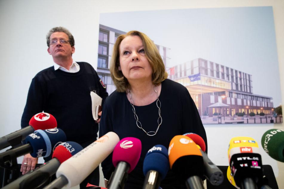 Hamburgs Gesundheitssenatorin Cornelia Prüfer-Storcks äußerte sich zu dem Coronavirus-Fall.