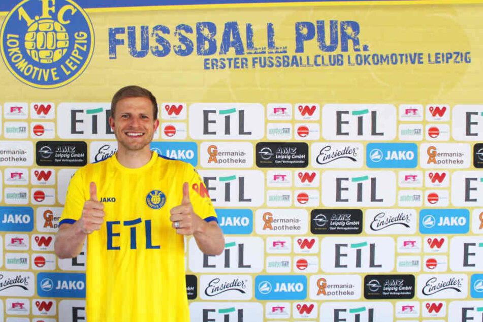 Nicky Adler wechselt nach 15 Jahren zurück zu Lok Leipzig und unterschreibt einen Zweijahresvertrag bis 2020.