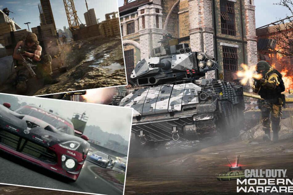 """""""Modern Warfare"""", """"Grid"""", """"Ghost Recon"""": Diese Spiele-Hits erwarten Euch im Oktober"""