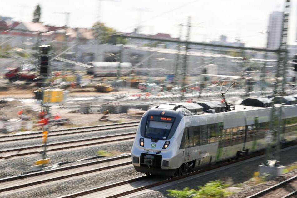 Das Mitteldeutsche S-Bahnnetz läuft ab Montag nach einem Ersatzfahrplan.