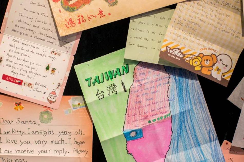 Die Briefe kommen aus der ganzen Welt nach Himmelsberg. (Symbolbild)