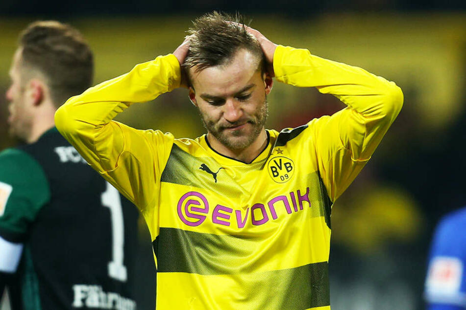 Verlässt den BVB nach nur einem Jahr wieder: Andrey Yarmolenko (28) wechselt zu West Ham United in die Premier League.