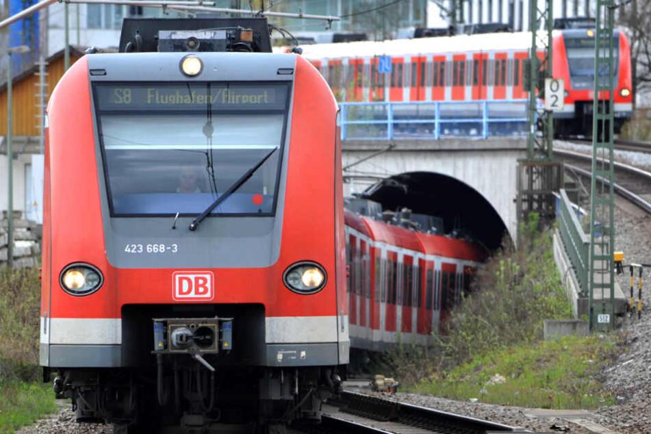Der S-Bahn-Verkehr in München ist stark vom Streik betroffen. (Symbolbild)