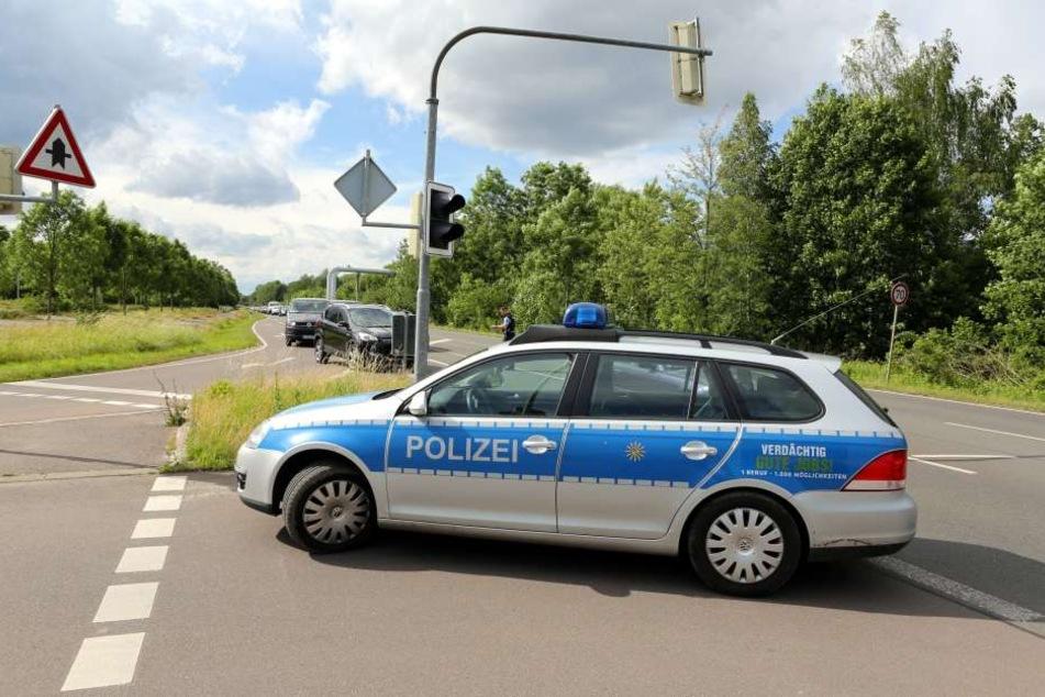 Nach dem Notruf der entführten Schülerin führte die Polizei im Leipziger Südwesten Straßenkontrollen durch.