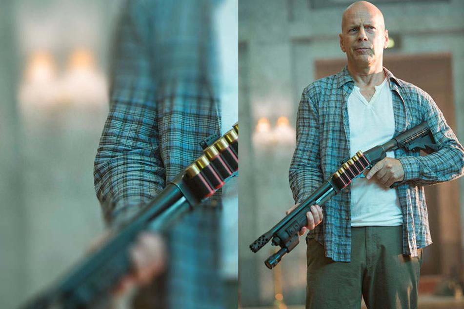 Bruce Willis ist ein gutes Beispiel dafür, dass Alter nicht vor Sex-Appeal schützt.
