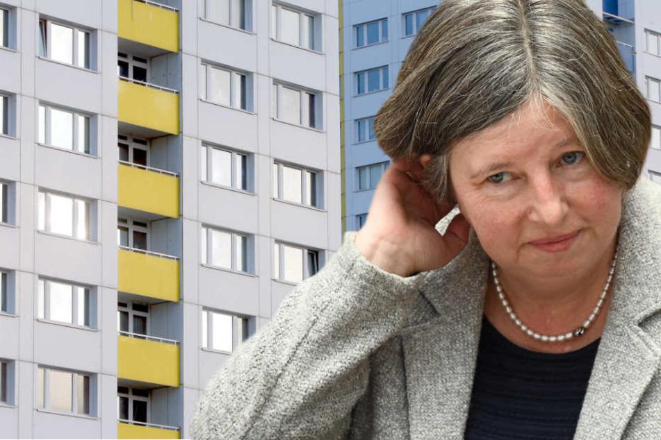 Katrin Lompschers Sorgenfalten werden nicht weniger. (Bildmontage)