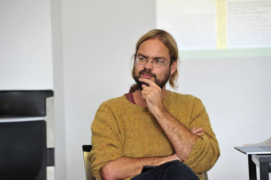 Unterschrieb Protestbrief an Bundesministerin Franziska Giffey (41, SPD): der Chemnitzer Aktivist Franz Knoppe (38).