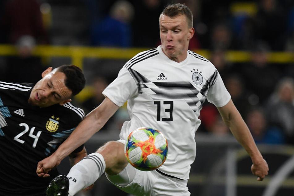Lukas Klostermann (23) stand bislang in sechs A-Länderspielen auf dem Platz, durchlief davor die U-Nationalmannschaften.